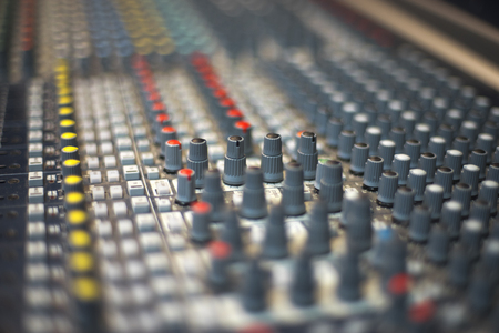 Sound panel for working in the studio and on TV projects