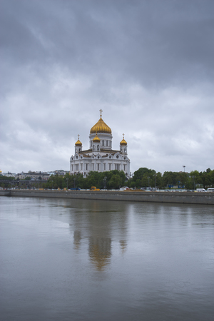 Christ the Savior Cathedral in Moscow. Russia