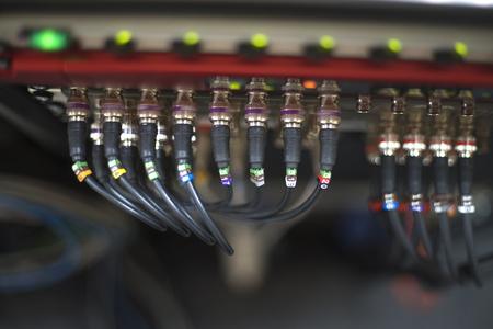 Optical fiber.