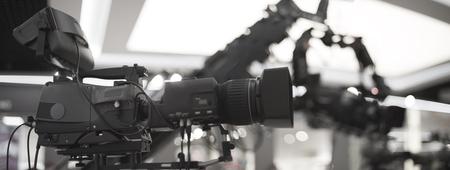 préparation au tournage d'un concert à la télévision