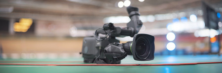 tv camera at sporting events