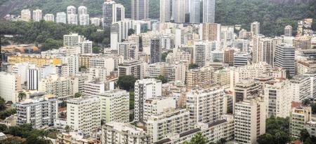 Rio De Janeiro, Brazil . View of the city through the bay
