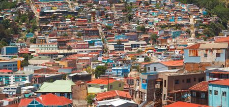 Valparaiso is a port city in Chile.