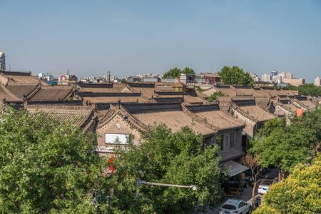 Xian view of the old city