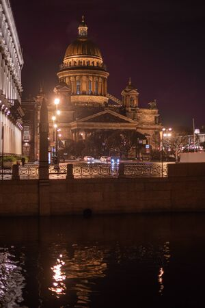 night city of St. Petersburg. The Russian Federation