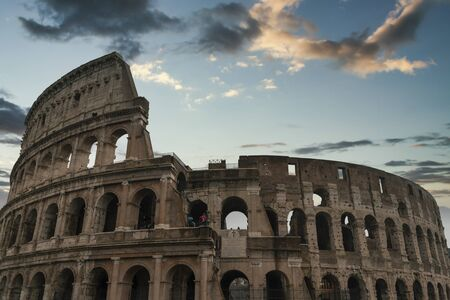 Coliseum. one of the grandest buildings of the ancient world Фото со стока
