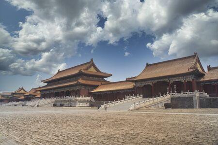 Forbidden City in Beijing. Chinese heritage