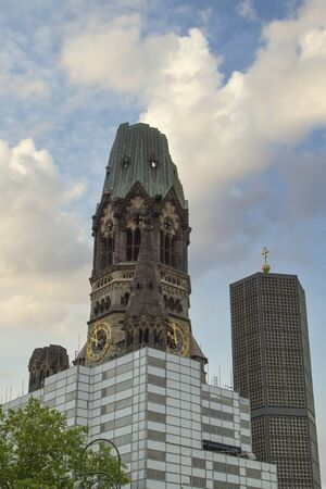Kaiser Wilhelm Memorial Church, Berlin. Germany