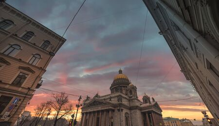 Saint Isaacs Cathedral. The largest Orthodox church in St. Petersburg.