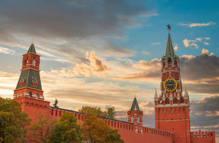Kremlin and Red Square in Moscow. Russia