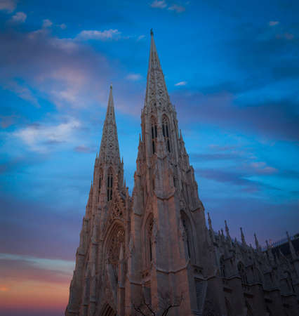 St. Patrick's Cathedral in New York, USA