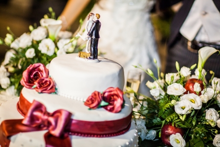 haut de forme: Wedding Cake Topper