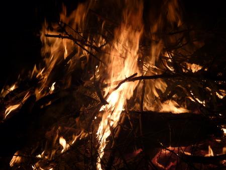 Ghostly Campfire Фото со стока