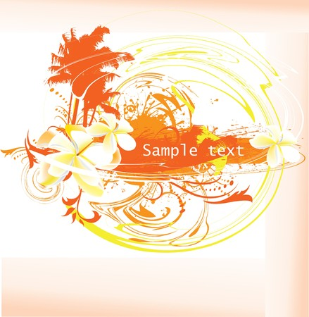 summer time background  Stock Vector - 7624543