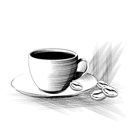 cofe: coffee cup Illustration