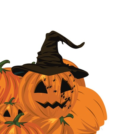 samhain: Calabazas de Halloween