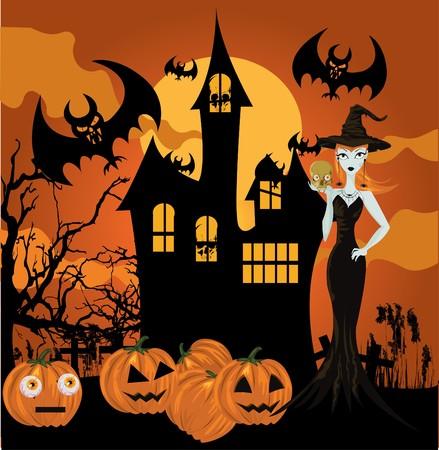 sorci�re halloween: Halloween sorci�re