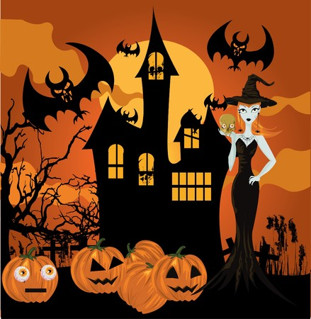 Halloween witch Stock Vector - 7747979