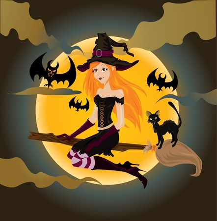 witch Stock Vector - 8001255