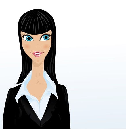 Businesswoman  Stock Vector - 8001225