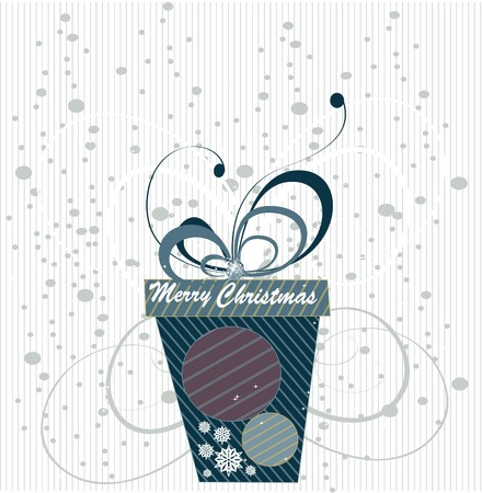Christmas background Stock Vector - 8001277