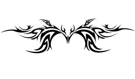 Tribal Tattoo Stock Vector - 8345585