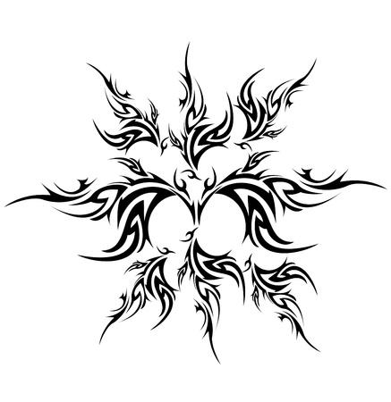 tribal tattoo: Tribal tattoo