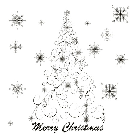 christmas tree Stock Vector - 8345672