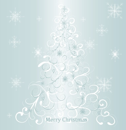 abstract christmas tree Stock Vector - 8345667