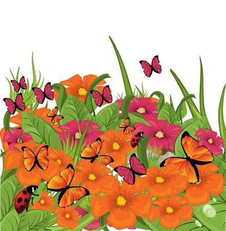 Wildflowers Stock Vector - 8985965