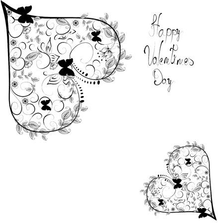 valentin day: hearts background