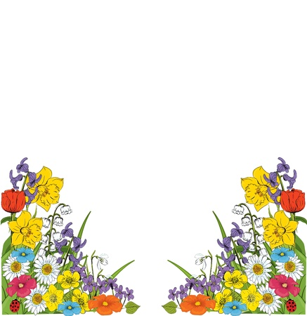 floral background Stock Vector - 8985955