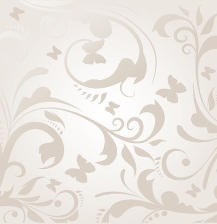 baroque pattern: Vector Background
