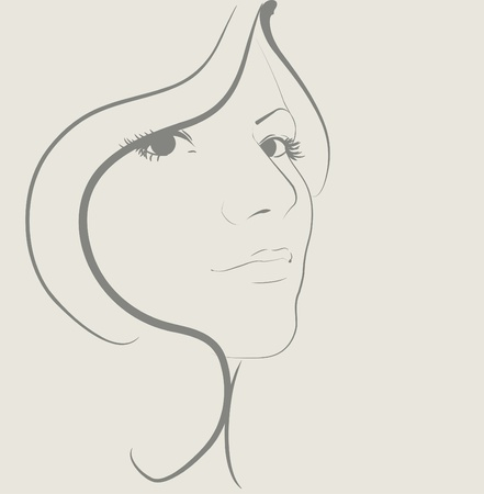 Beauty women  Vector