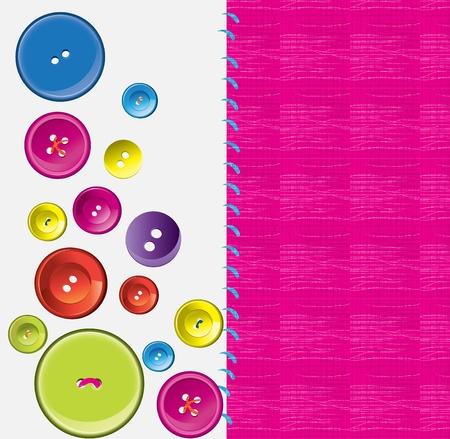 Needle, button, thread  Stock Vector - 10722532