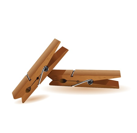 clothes pins: Clothespin vector