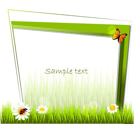 eco template Stock Vector - 10722573