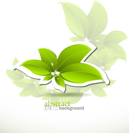 biologic: Vector nature background