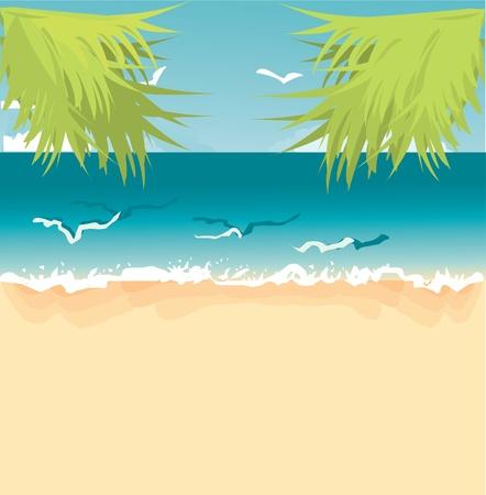 tropical landscape Stock Vector - 10718502