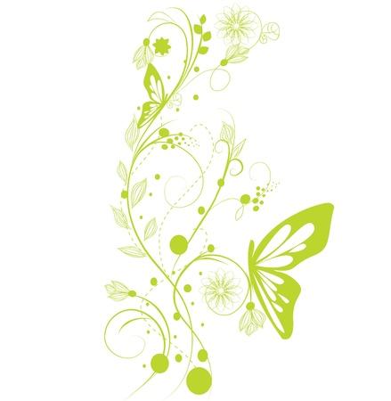 stencil flower: Design flower