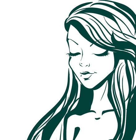 Fashion girl Stock Vector - 10718457
