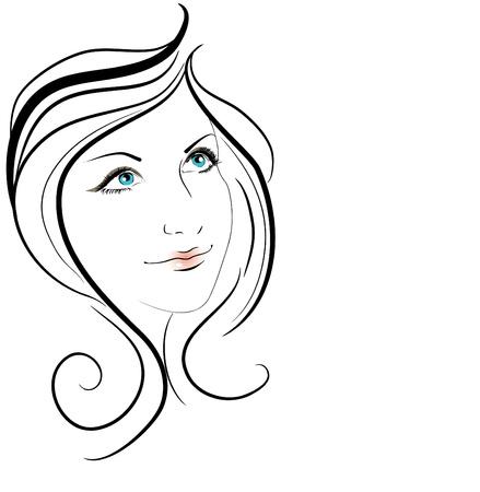 Beautiful girl Stock Vector - 10718474