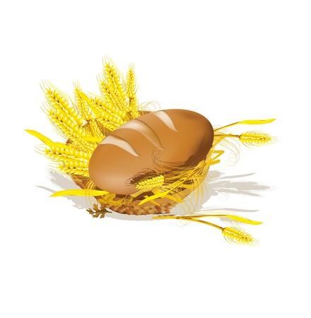 canasta de panes: en la canasta de pan