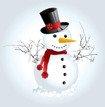 tophat: Snow Man