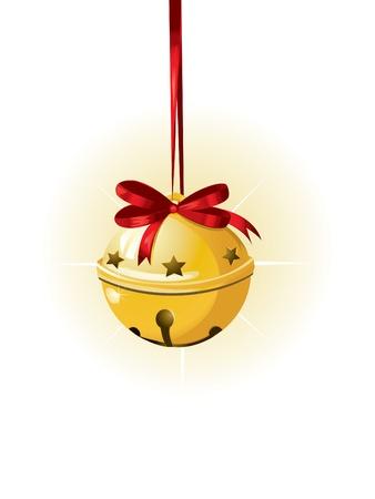 christmas sleigh: Jingle Bell  Illustration