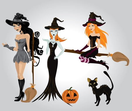 sexy costume: Sexy Halloween witch