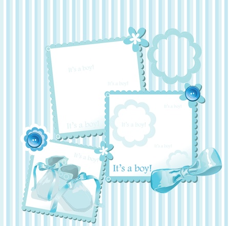 albums: Baby shower greeting card