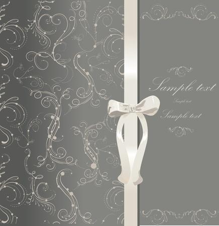decorative card symbols: Wedding card