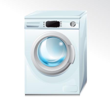 automat: washing machine Illustration