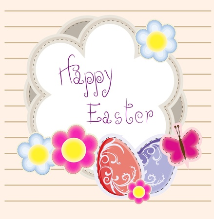 Easter holiday vector background Vector